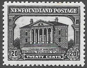 Newfoundland Scott Number 171 VF H