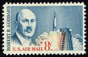 US #C69 Robert Goddard; MNH (0.35)