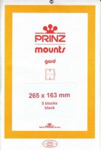 PRINZ 265X163 (5) BLACK MOUNTS RETAIL PRICE $13.00