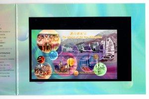 Hong Kong 2000 The Advent of The New Millennium Presentation Pack Souvenir Sheet