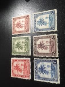 Belgium Congo sc 187-192 MLH