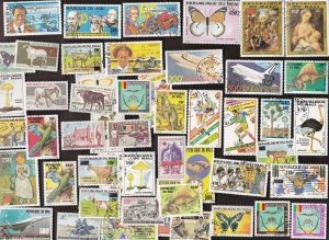 50 MALI All Different Stamps (C80)