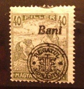 Hungary 1916, MNH 40f , (Kolozsvar) Very Fine Scott 5N9