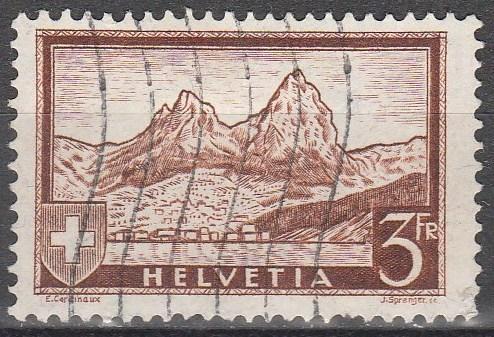 Switzerland #209  F-VF Used CV $5.25 (C4990)