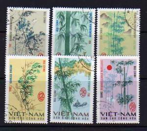 North Vietnam 449-454 Set U Bamboo, Plants (B)