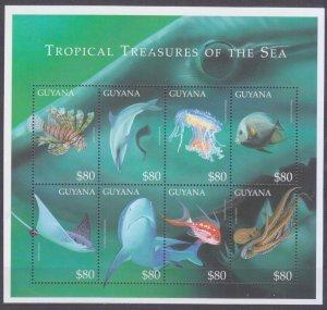 2000 Guyana 6764-6771KL Sea fauna 11,00 €