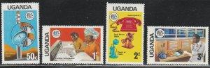 Uganda #147-150 MNH Full Set of 4