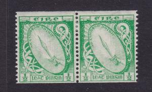 Ireland Scott # 91 pair VF OG light hinged nice color cv $ 60 ! see pic !