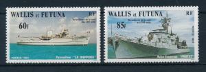 [24078] Wallis & Futuna 1981 Military ships MNH