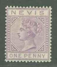 Nevis 22 Mint F-VF NG