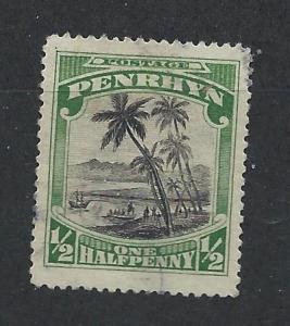 PENRHYN ISLAND SC# 25 F-VF U 1920