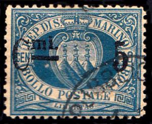 San Marino Scott 25 Used.