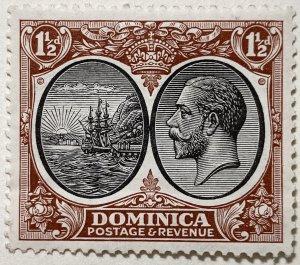 AlexStamps DOMINICA #69 VF Mint