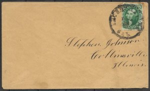 Doyle's_Stamps: Secret Ravine, California, Early State Postal History - Cover