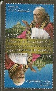 Salvador  Scott 1674   Pope   Used
