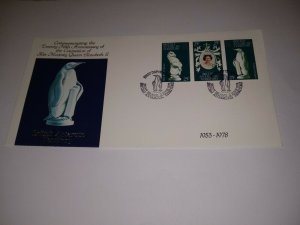 British antarctic territory 1978 25th Anniversary of Coronation First Day Cover