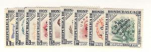 Honduras, C241-49, 10th Anniv.United Nations, Singles, MNH