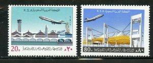 SAUDI ARABIA SCOTT# 818-819 MINT NEVER HINGED AS SHOWN
