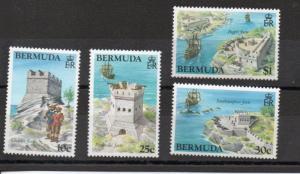 Bermuda 429-432 MNH