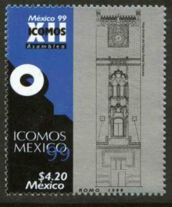 MEXICO 2168, Council of Monuments and Sites. MINT, NH. VF. (69)