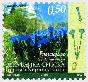 2008 Bosnia & Herzegovina Flora Flowers (4)  (Scott 334-37) MNH