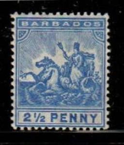 Barbados Scott 96 Mint hinged (Catalog Value $25.00)