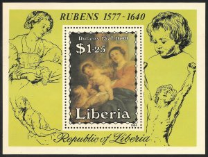 Liberia Mint Never Hinged ~ Souvenir Sheet ~ [9208]