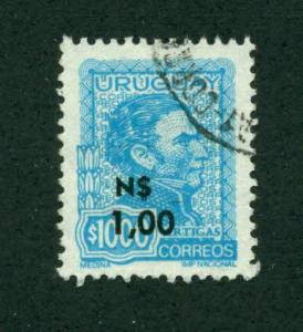 Uruguay 1975 SC# 932 U SCV (2014) = $0.95