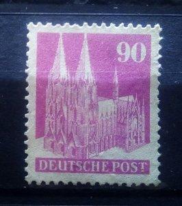 Germany Bizone Eng. Print No gumm