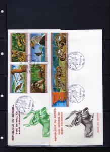 Senegal 1978 FDC Salum Delta National Park/Birds Set(6)473/8