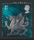 GB Regional Wales 1st Class   SG W84 SC#14 Used    see details