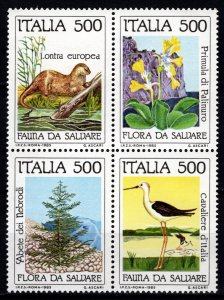 Italy 1985 Nature Protection Set [Mint]
