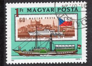Hungary  #2706 1981 cancelled  Danube commission  1fo.  Arpad