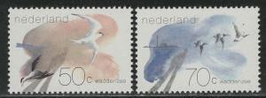 Netherlands Scott # 642 - 643, mint nh