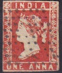 India #4 F-VF  Used CV $55.00 (Z1462)