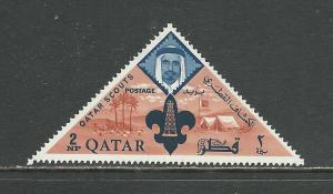 Qatar Scott catalogue #54 Unused HR See Desc