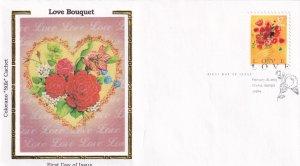 2005, Love Bouquet, Colorano Silk, (E11843)