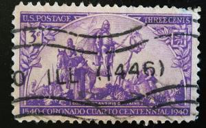 898 Coronado, Circulated Single, Vic's Stamp Stash
