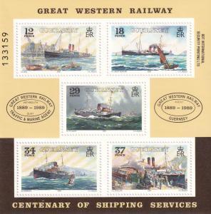 Guernsey #415a MNH CV $4.25  Z794L