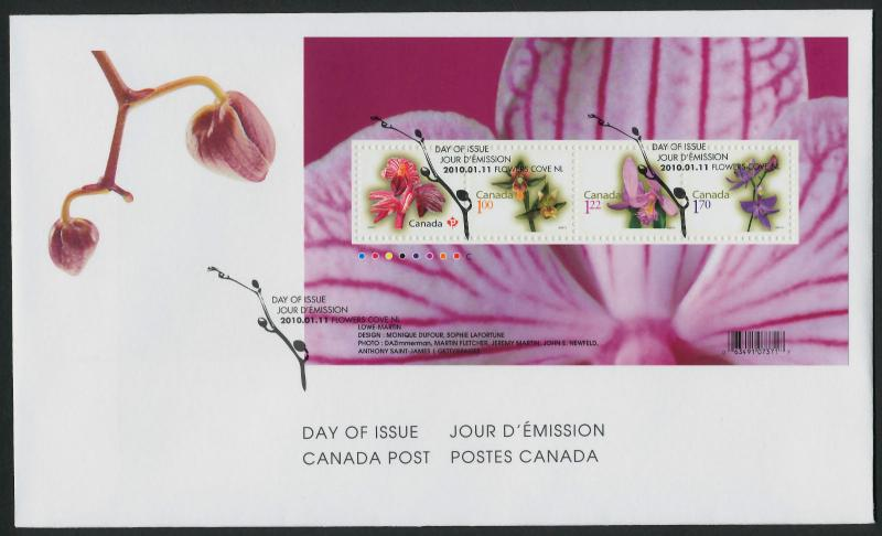 Canada 2356 on FDC Flowers