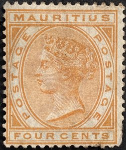 AlexStamps MAURITIUS #60 VF Mint