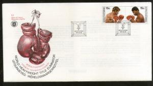 Bophuthatswana 1979 Boxing World Heavyweight Title Eliminator Sc 41-2 FDC # 7058