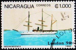 Nicaragua. 1990 1000cor  Fine Used