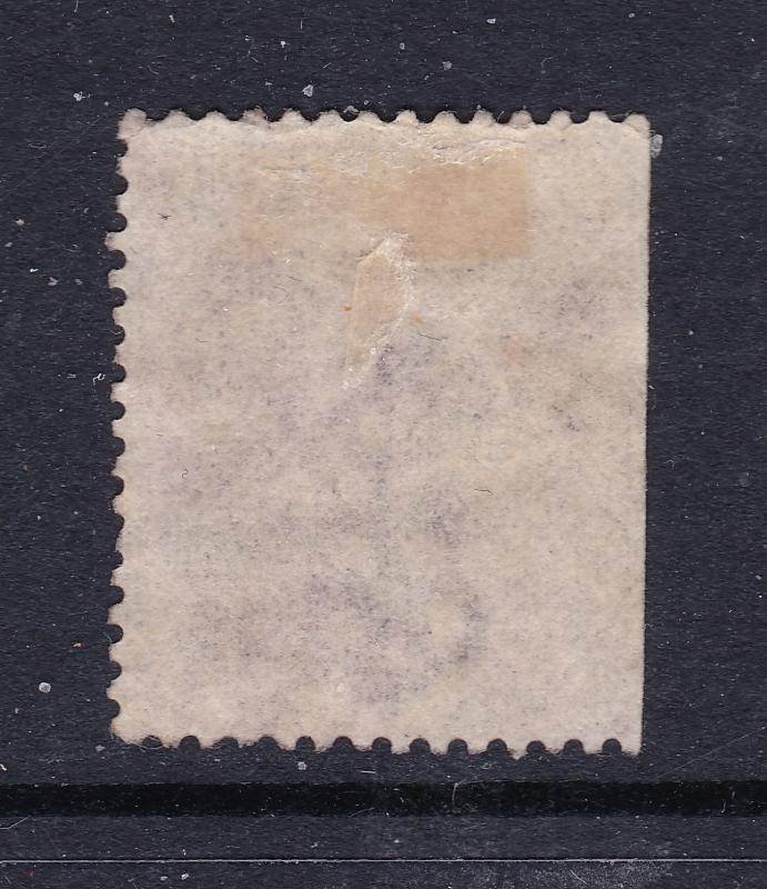 Great Britain a QV 6d lilac plate 9 no hyphen.used