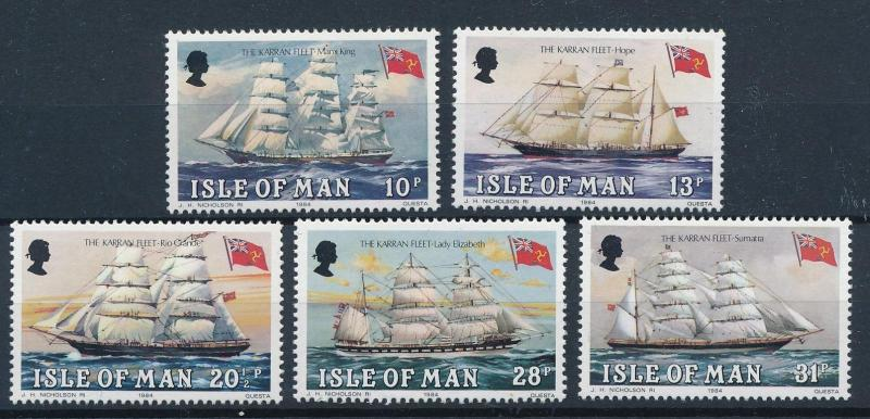 [81305] Isle of Man 1984 Ships Boats Karran Fleet MNH