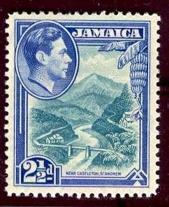Jamaica; 1938: Sc. # 120: *+/MLH Single Stamp