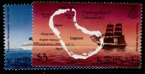 KIRIBATI QEII SG633-634, complete set, NH MINT.