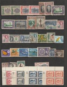 Southern Rhodesia a M&U lot KGVI to QE2