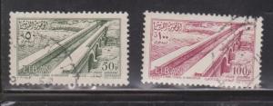 LEBANON Scott # C189-90 Used - Airmail Issue