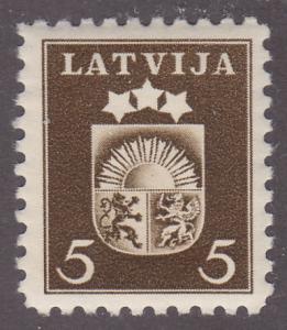 Latvia 220 Arms of Latvia 1940